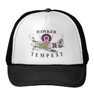 hawker tempest trucker hat