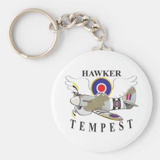 hawker tempest key ring