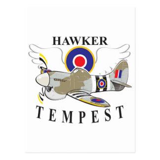 hawker tempest postcard