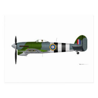 Hawker Typhoon 1-B Postcard