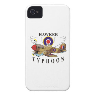 hawker typhoon iPhone 4 Case-Mate cases