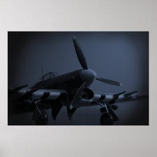 Hawker Typhoon Mk1B Poster