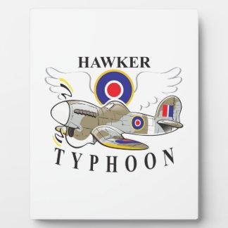 hawker typhoon plaque