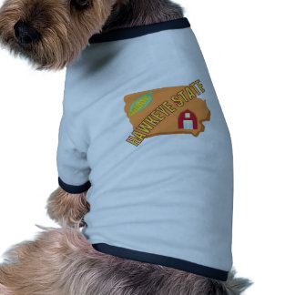 Hawkeye State Ringer Dog Shirt