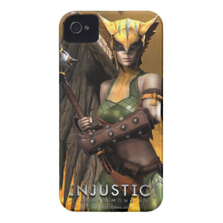 Hawkgirl iPhone 4 Cases