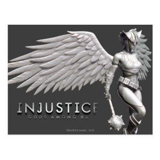 Hawkgirl Postcard