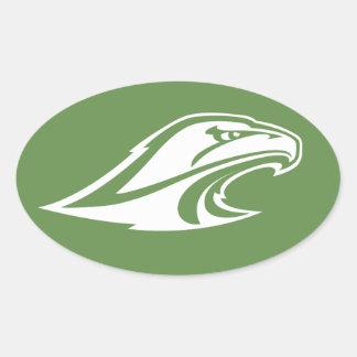 Hawks/Eagles Sticker