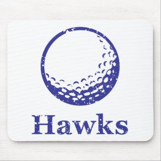 Hawks Golf Mouse Pad