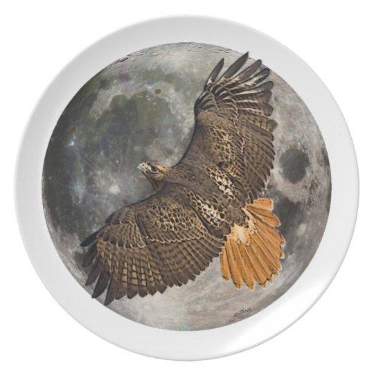 Hawks Moon Collector Plate