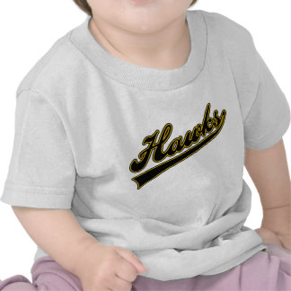 Hawks Script T-shirts