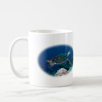 Hawksbill Sea Turtle Coffee Mug