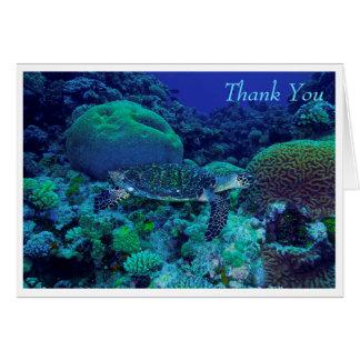 Hawksbill Sea Turtle Greeting Card