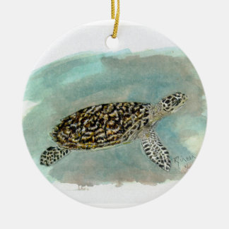 Hawksbill Sea Turtle ornament