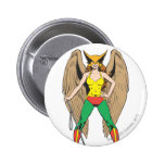 Hawkwoman Pinback Button