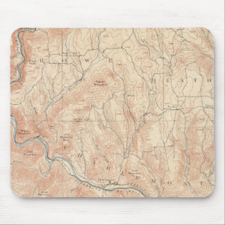Hawley, Massachusetts Mouse Mat