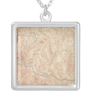 Hawley, Massachusetts Silver Plated Necklace