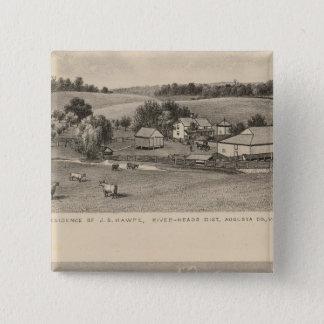 Hawpe, Seawright residences 15 Cm Square Badge
