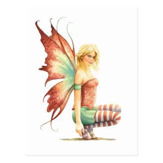 Hawthorn Fairy Postcard