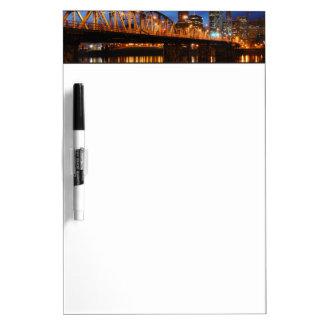 Hawthorne Bridge Dry Erase Board