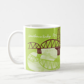 Hawthorne Bridge, PDX Coffee Mug