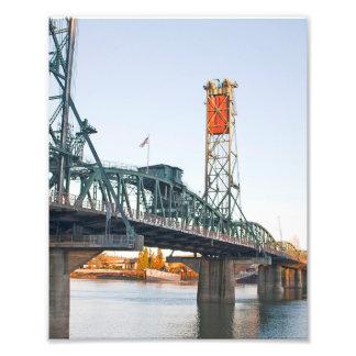 Hawthorne Bridge Portland Daytime Photo Print