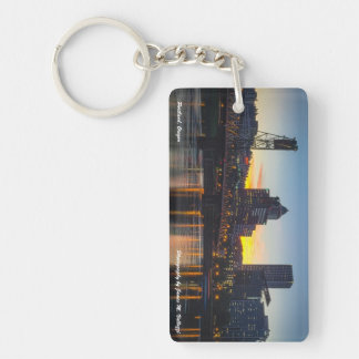 Hawthorne Bridge Portland, Oregon Key Ring