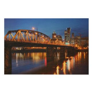 Hawthorne Bridge Wood Canvases