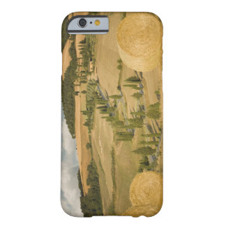 Hay bale and rolling landscape, Tuscany, Italy Barely There iPhone 6 Case