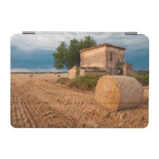 Hay bale in Provence field iPad Mini Cover
