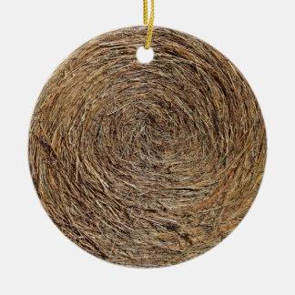 Hay Bale Ornament