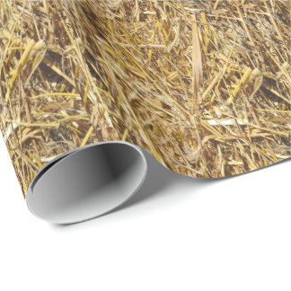 Hay Bale Wrapping Paper