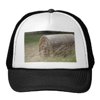 Hay bales trucker hats