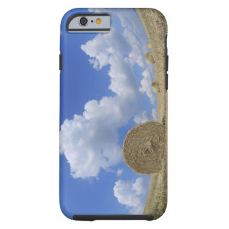 Hay Bales in Field, Pienza, Val d'Orcia, Siena Tough iPhone 6 Case