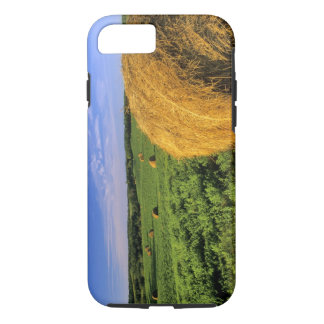 Hay Bales near Bottineau North Dakota iPhone 8/7 Case