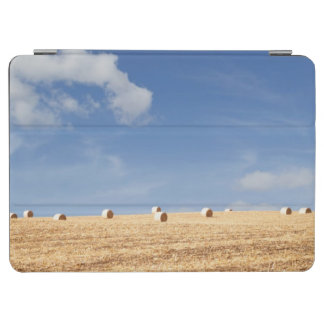 Hay Bales on Field iPad Air Cover