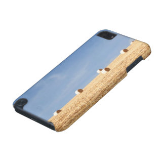 Hay Bales on Field iPod Touch (5th Generation) Case