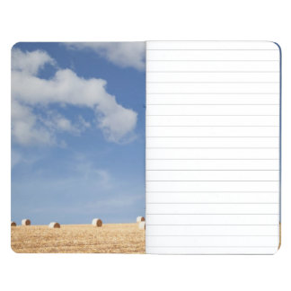 Hay Bales on Field Journal