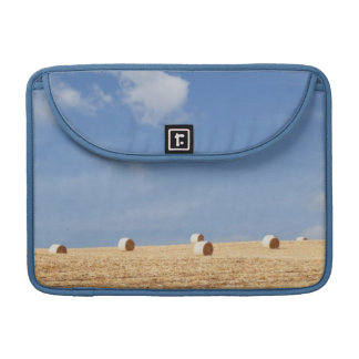 Hay Bales on Field Sleeve For MacBook Pro