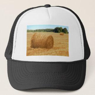 Hay bales trucker hat