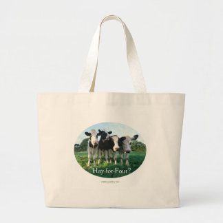 Hay-for-Four Large Tote Bag