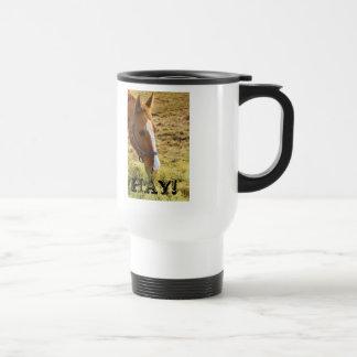 Hay! Stainless Steel Travel Mug