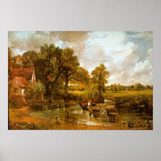 Hay Wain by John Constable Poster