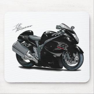 Hayabusa Black Bike Mouse Pad