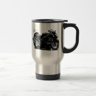 Hayabusa Black Bike Travel Mug