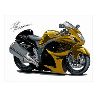 Hayabusa Gold Bike Postcard