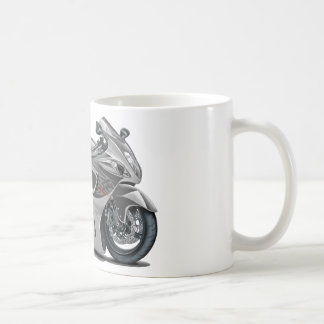 Hayabusa Grey Bike Coffee Mug