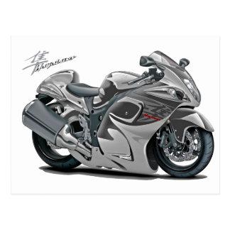 Hayabusa Grey Bike Postcard