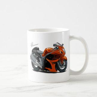 Hayabusa Orange Bike Basic White Mug