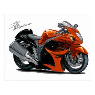 Hayabusa Orange Bike Postcard