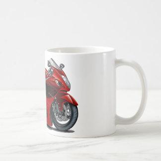 Hayabusa Red-Black Bike Basic White Mug